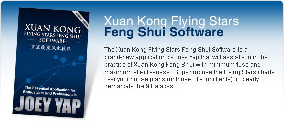 Xuan Kong Flying Stars Feng Shui Software (Windows version)