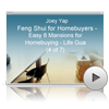 Feng Shui for Homebuyers Webinar - Easy 8 Mansions for Homebuying - Life Gua