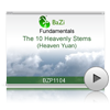 The 10 Heavenly Stems (Heaven Yuan)<br>(BZP1104)