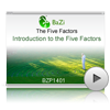 Introduction to the Five Factors<br>(BZP1401)