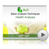 Health Analysis<br>(BZP1505)