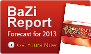 Your BaZi Forecast for 2013