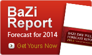 Your BaZi Forecast for 2014